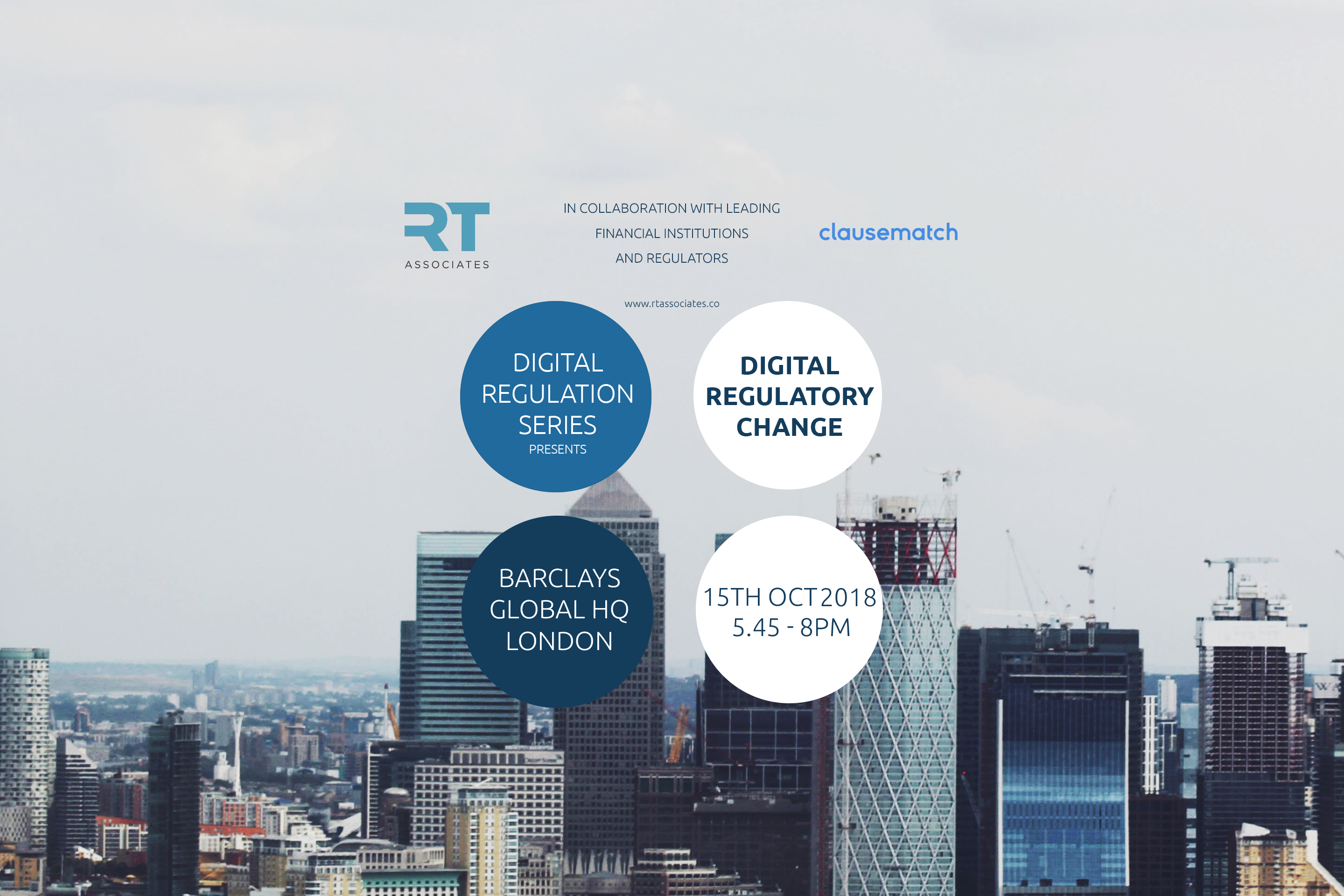 Digital Regulatory Change - The international series - london