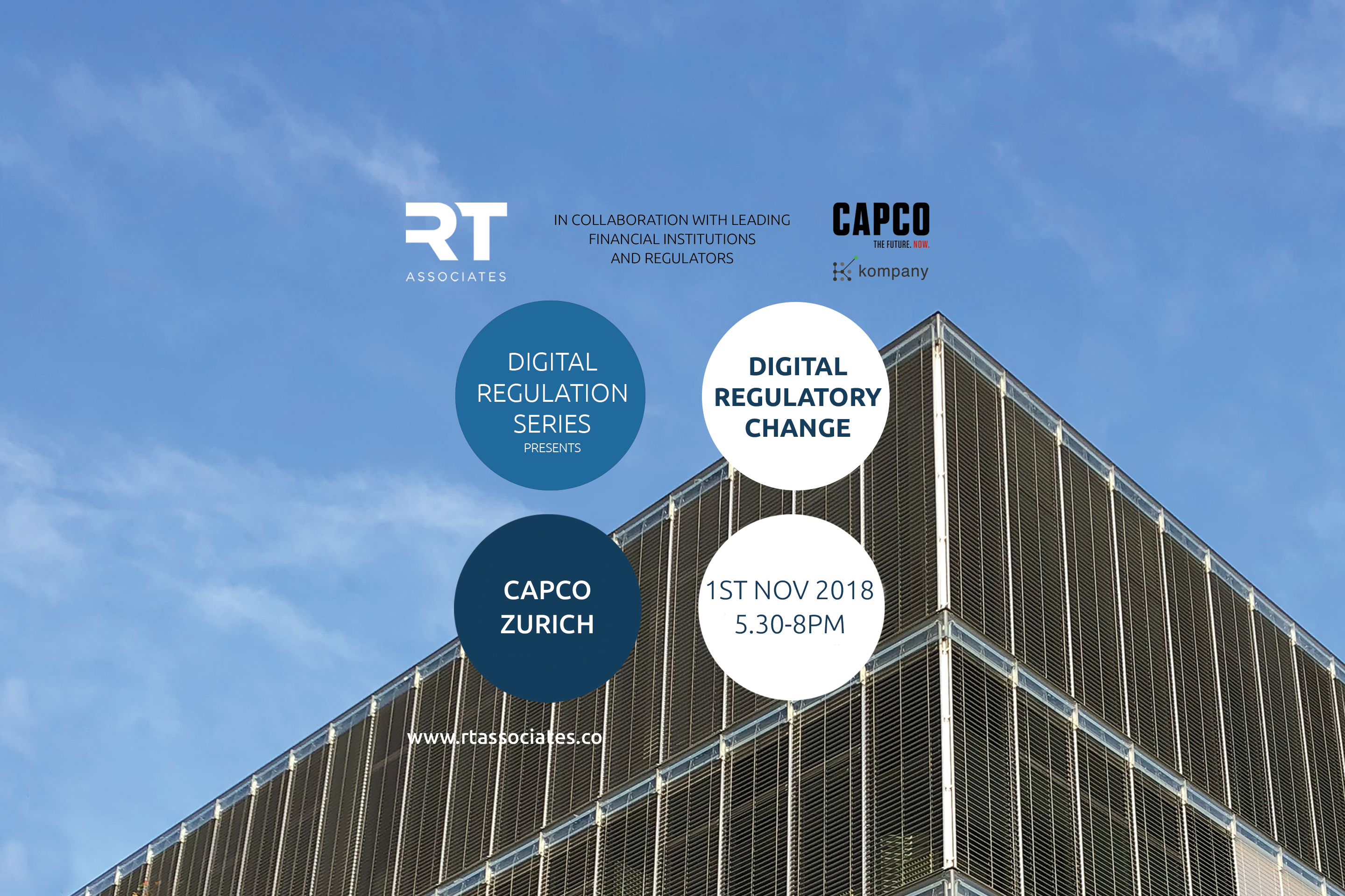 DIGITAL REGULATORY CHANGE The International Series – Zurich