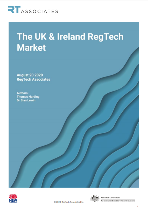 The UK&Ireland RegTech Market report cover