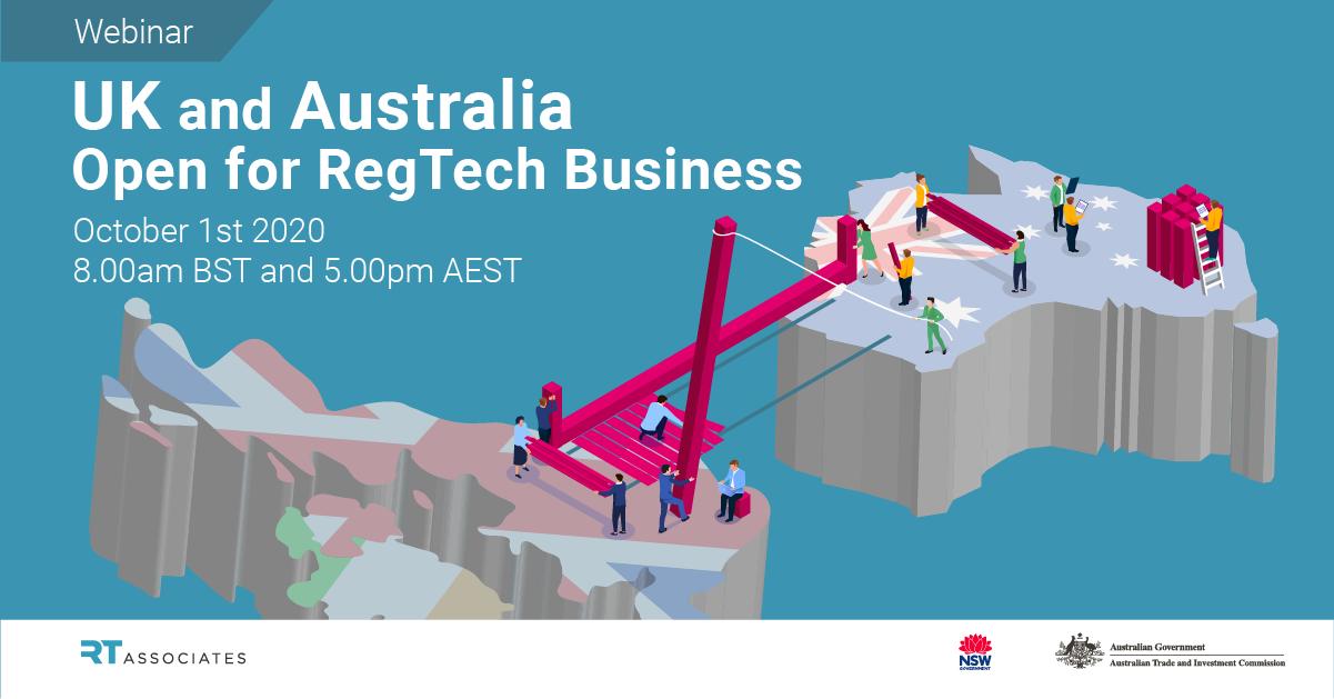 UK and Australia - Open for RegTech Business webinar