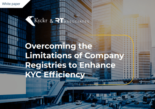 RegTech Associates - Company Registries whitepaper