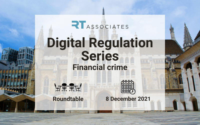 RegTech Associates Digital Regulation Series - 8 Dec